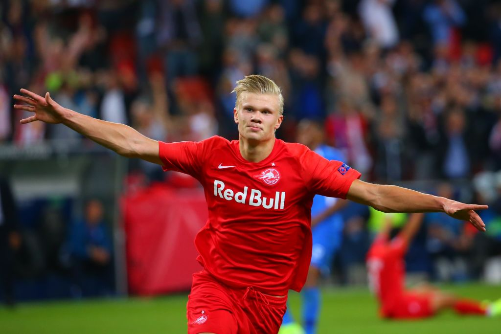 Erling Braut Haaland speaks out on talk of his future after Liverpool goal