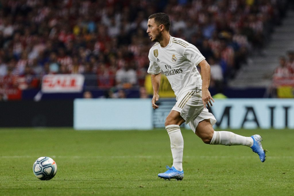 Terreur explains why Hazard isn't in Real Madrid's squad to face Mallorca
