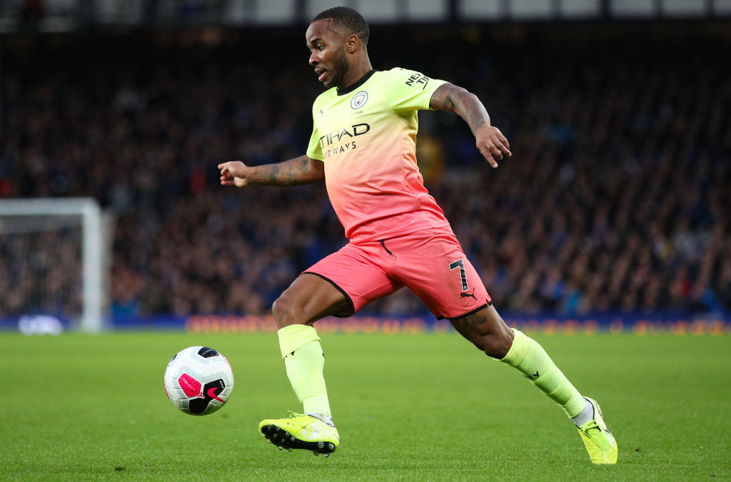 Manchester City's Raheem Sterling named Champions League Player of the Week