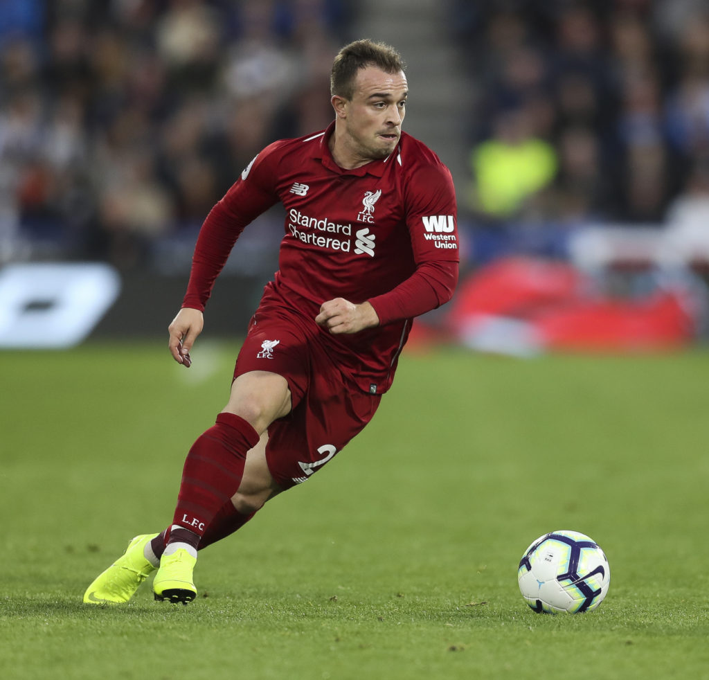 Shaqiri Admits To Disliking His Role In Liverpool