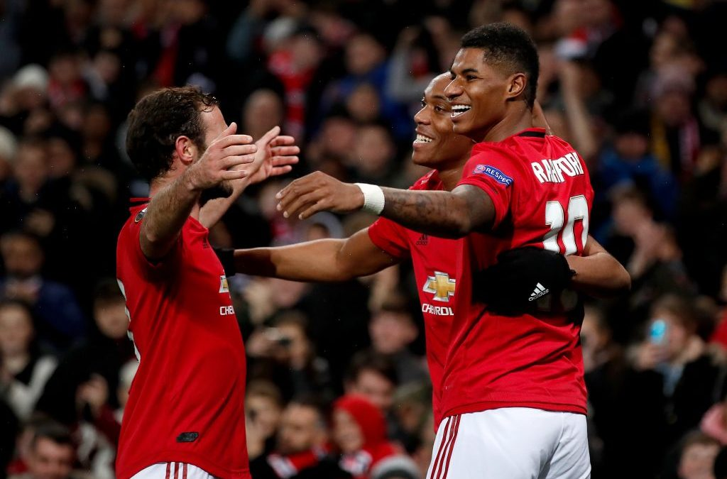 Man United 3-0 Partizan: Superb Rashford & Martial provide glimpse at potentially-devastating partnership