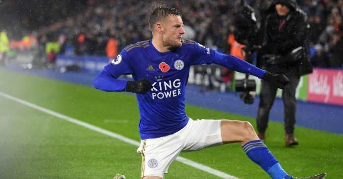 Vardy back to haunt Arsenal again, sends Leicester second