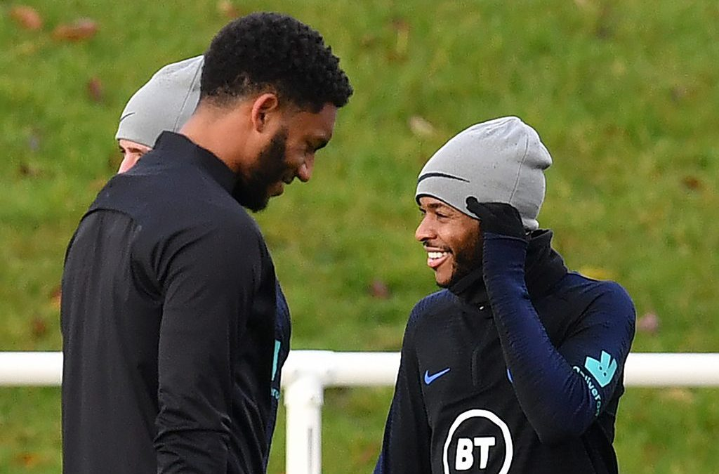 Joe Gomez 'asked Southgate not to send Sterling home'/Photos emerge of scratch on Liverpool star's face