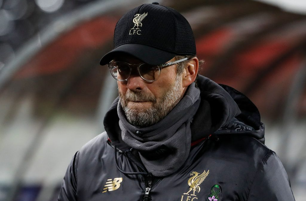 Jurgen Klopp explains Liverpool's weakened XI vs Everton