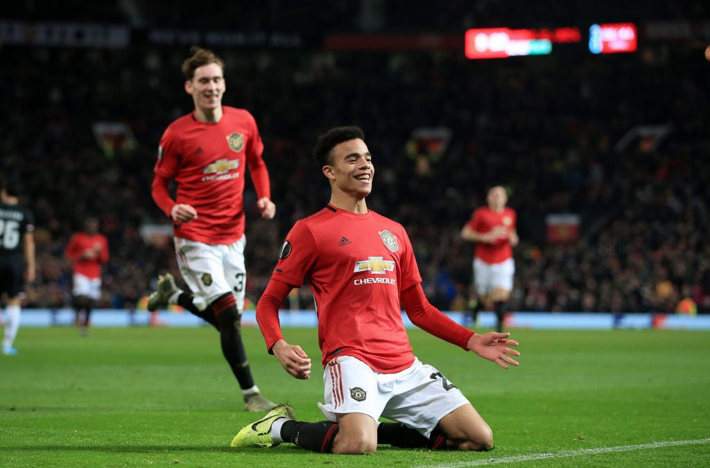 Man United's Mason Greenwood named Europa League Player of the Week